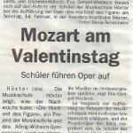 Mozart am Valentinstag Höxter