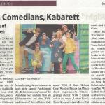 Comedians, Kabarett Stadthalle Höxter