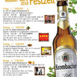 Krombacher Festzelt von kds events auf dem Wilbaser Markt